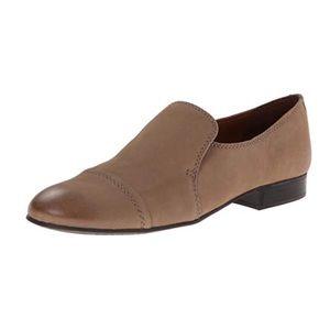 Franco Sarto Abbey Slip On Loafers Beige Sz 7